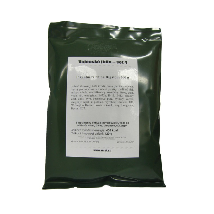 Military food package MRE VJ, Arpol