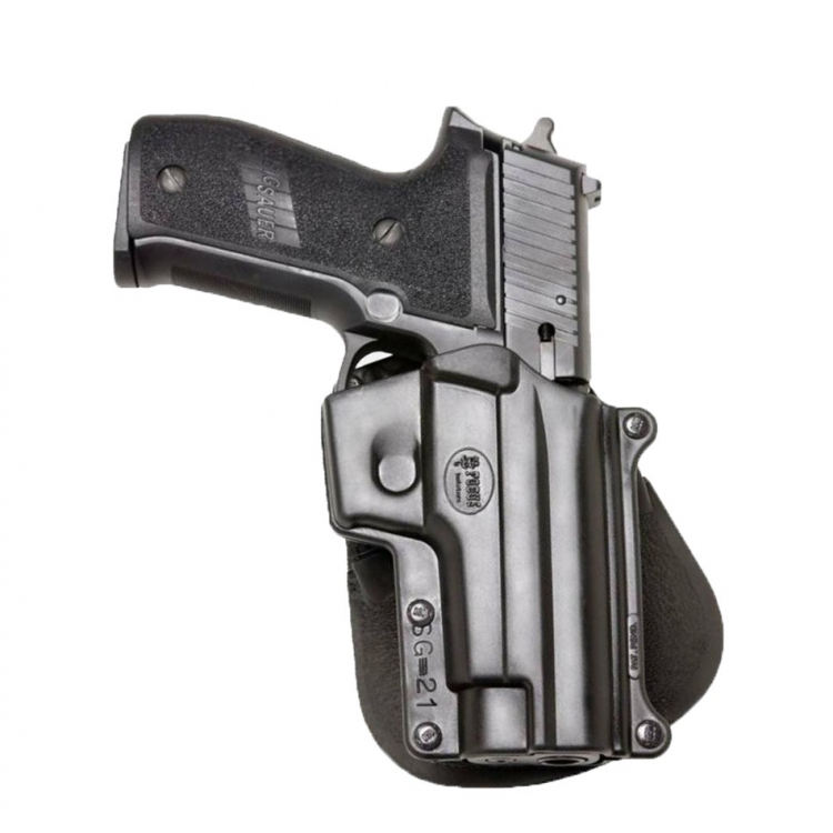 SIG 226/228 pistol holster, paddle, Fobus