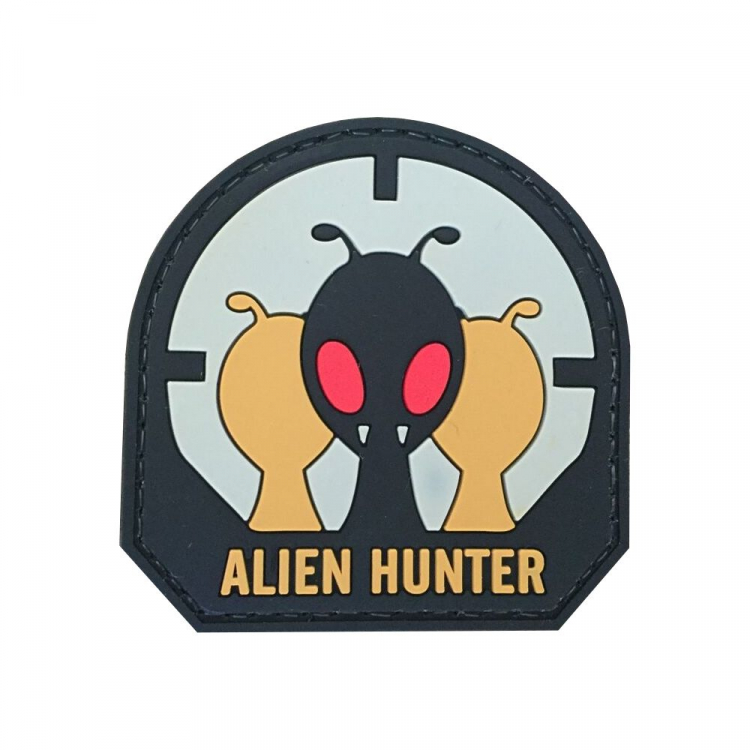 "PVC patch ""Alien Hunter"""