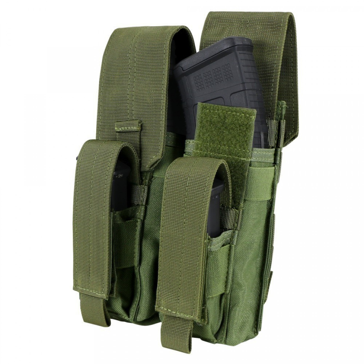 Double pouch for 2x AK and 2x pistol mag, Condor