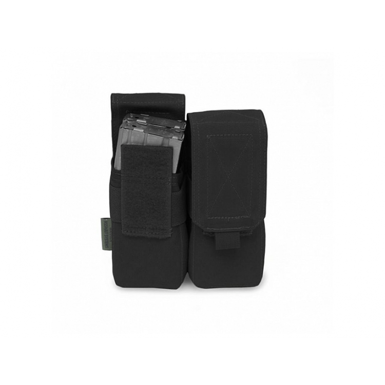 Double Mag Pouch - 4x 5.56mm M4/5.56, VELCRO, Warrior