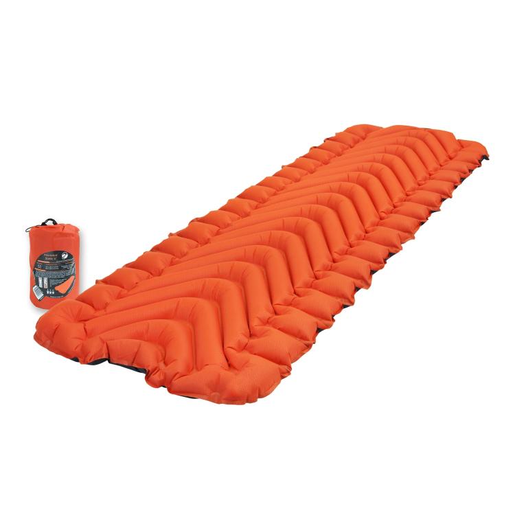 Sleeping pad Static V Insulated, orange, Klymit