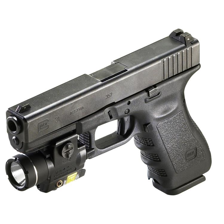Gun Light TLR-4, 125 lm C4 LED, red laser, Streamlight
