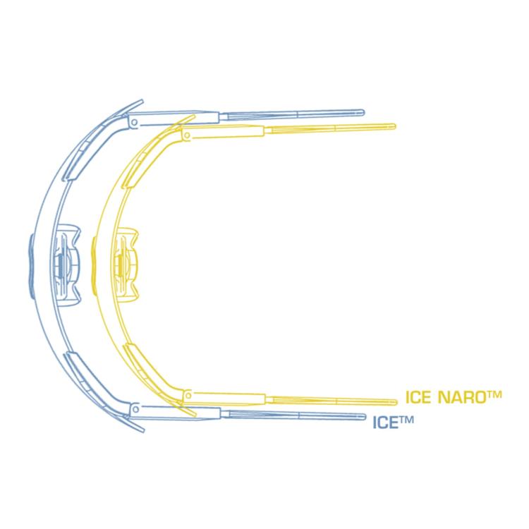 Ballistic Eyeshield ICE NARO, 3 LS, ESS