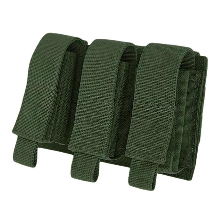 Triple 40mm Grenade Pouch, Warrior, Olive