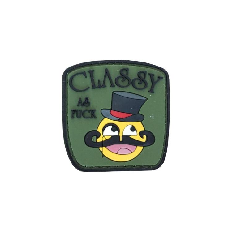 "PVC patch ""Classy"""