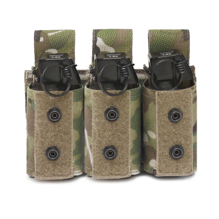 Triple 40mm Grenade Pouch, Warrior