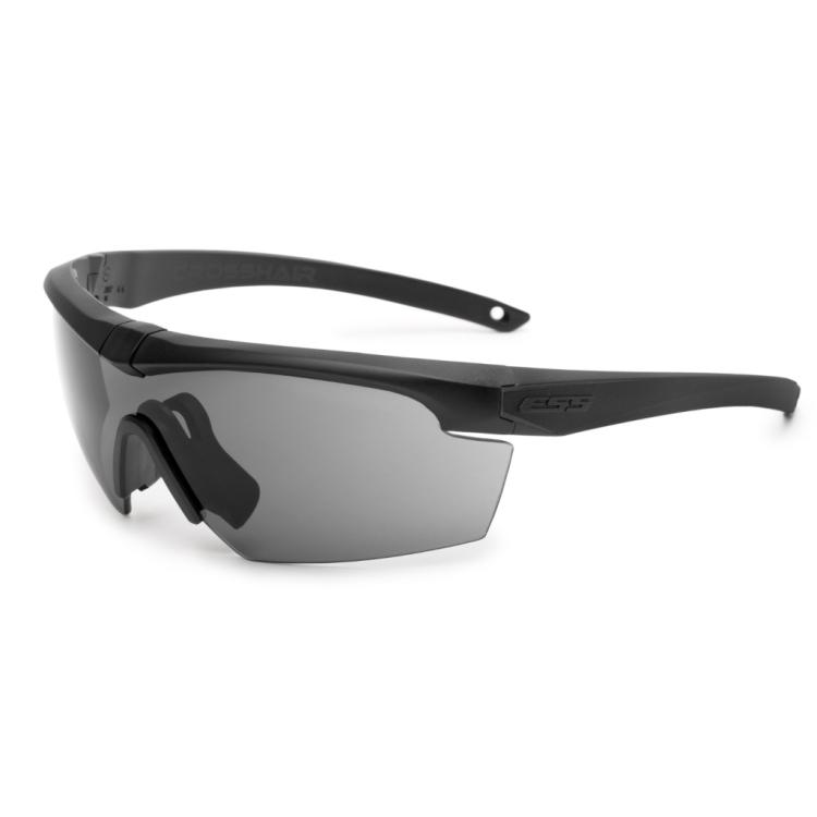 Ballistic Eyeshield Crosshair Black, 2 LS, ESS