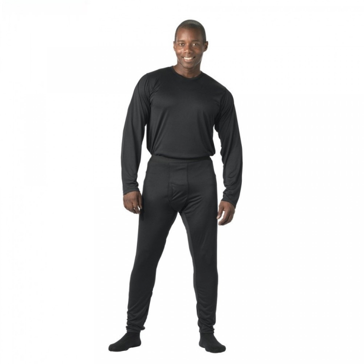 Gen III Silk Weight Underwear Top, black, Rothco
