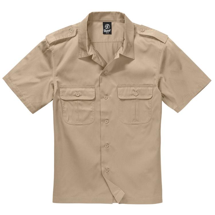 Men's US shirt, short sleeve, Brandit