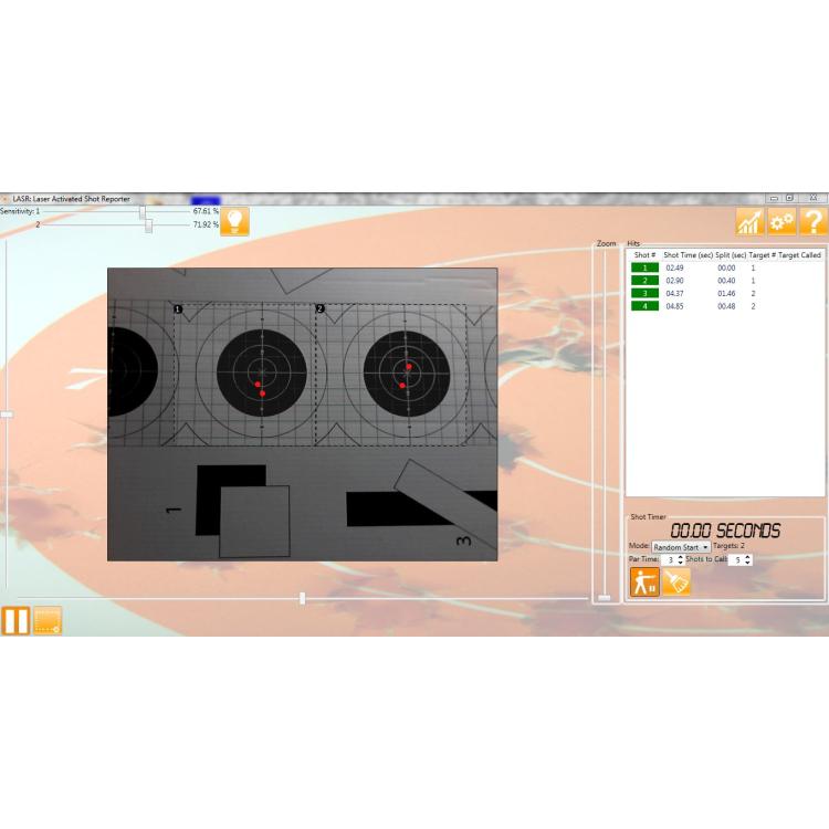 Complete training kit L.A.S.R. Range, Surestrike Cartridge + Software, Laser Ammo
