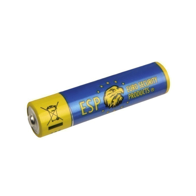 Alkaline battery type AAA, micropencil battery