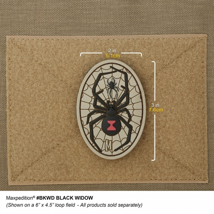 Black Widow Morale Patch, Maxpedition