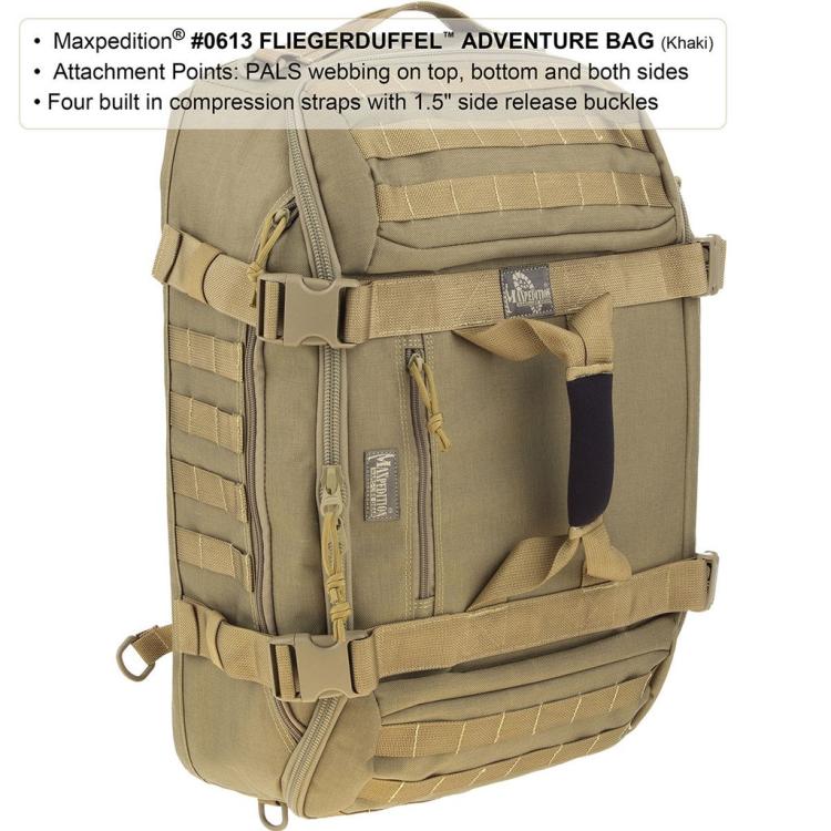 Fliegerduffel™ Adventure Bag, 42 L, Maxpedition