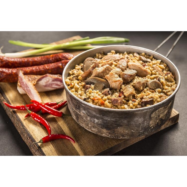 Spicy Meat Mix with Bulgur, Adventure Menu