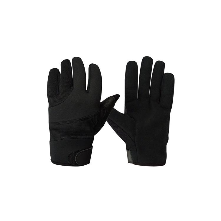 Street Shield Police Gloves, Black, Rothco
