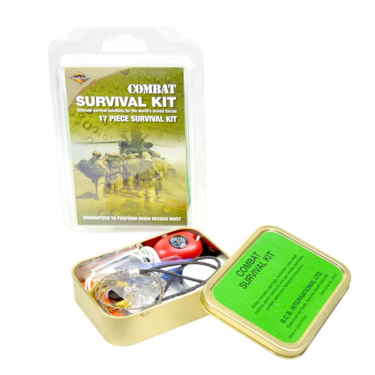 Krabička poslední záchrany Combat Survival Kit, BCB