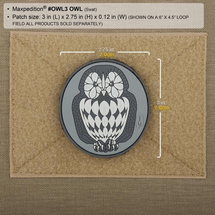 Owl Morale Patch, Maxpedition