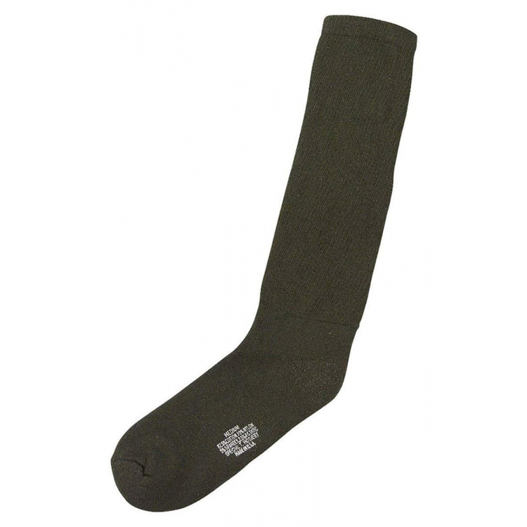 U.S. Socks Army X-Static with softened foot, olive, Rothco
