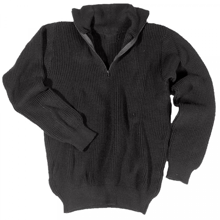 Men's knitted sweater Troyer Acryl, Mil-tec