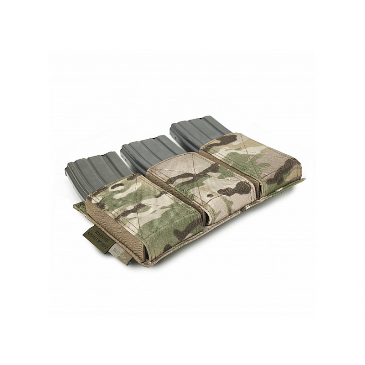 Triple Elastic Mag Pouch AR15 / AK74, Warrior