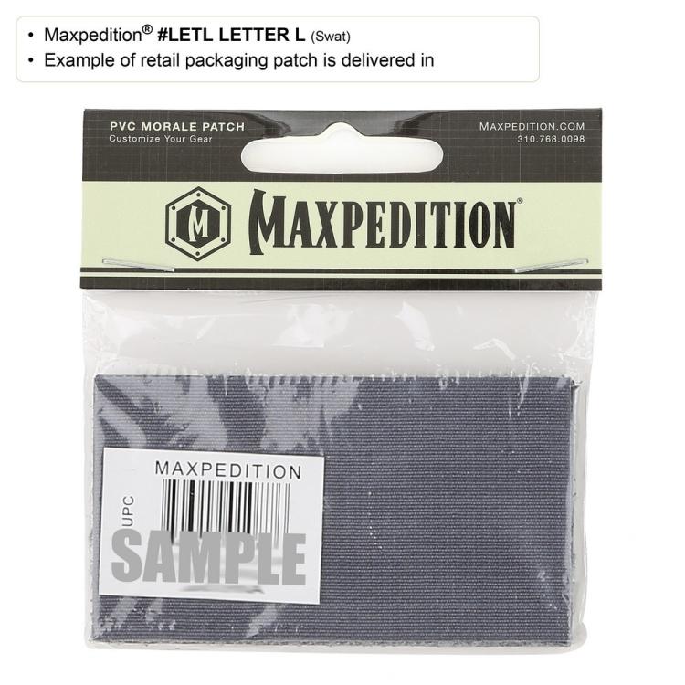 Letter L Morale Patch, Maxpedition