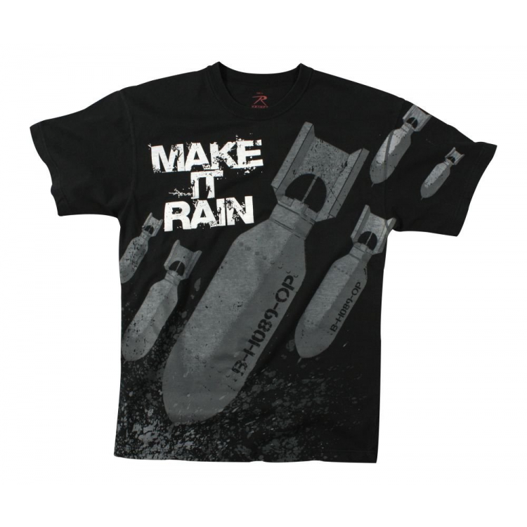 Triko Make It Rain, Black, Rothco