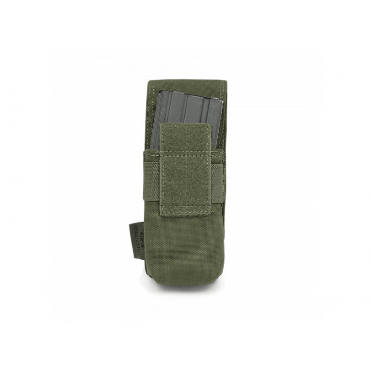 Single 2x M4 5.56 mm Mag Pouch, MOLLE, Warrior