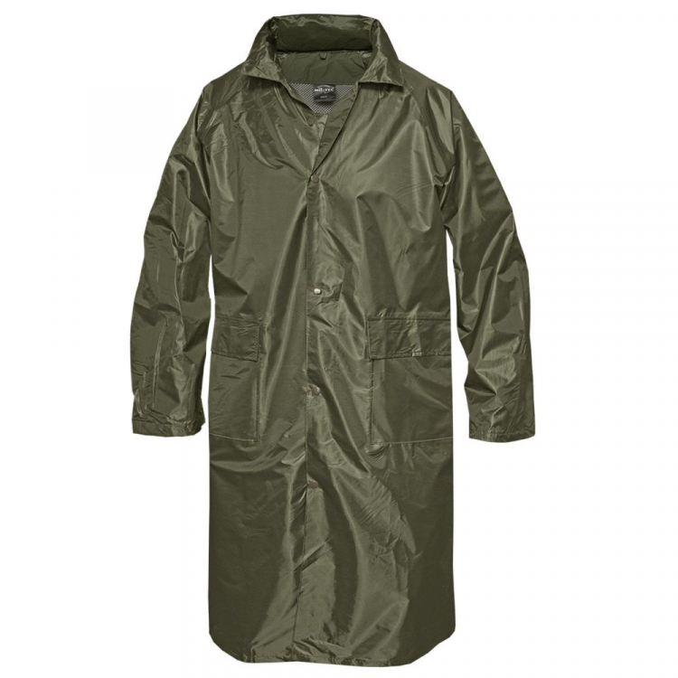 Raincoat PES / PVC, Mil-Tec