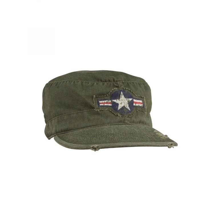 Vintage Air Corps Fatigue Cap, Olive, Rothco