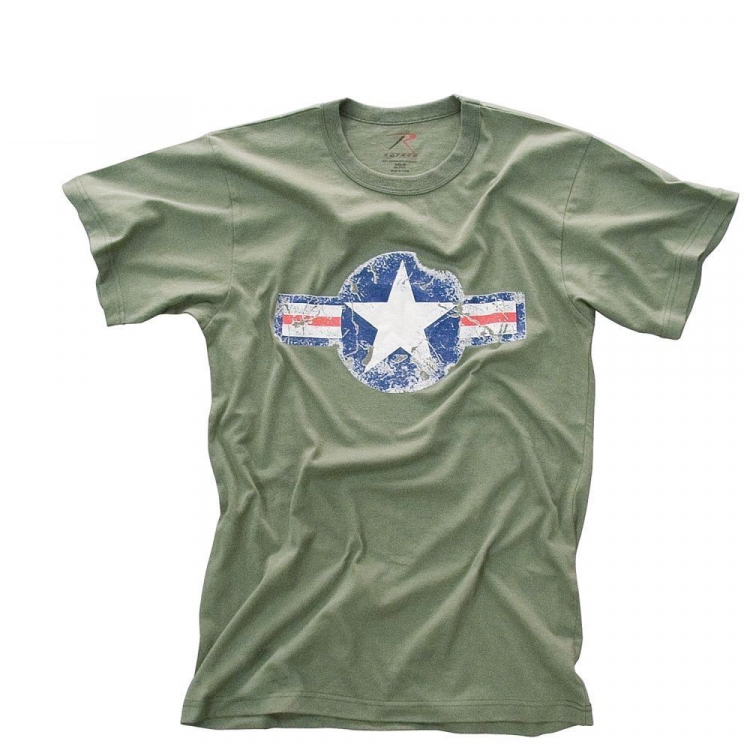 Rothco Vintage Army Air Corps T-Shirt, olive, Rothco