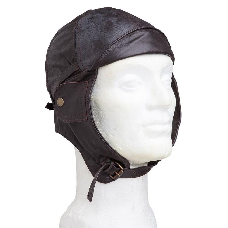 Aviation leather helmet, Mil-Tec
