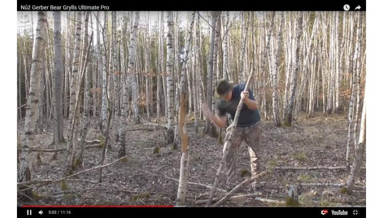 Video recenze nůž Gerber Bear Grylls Ultimate Pro